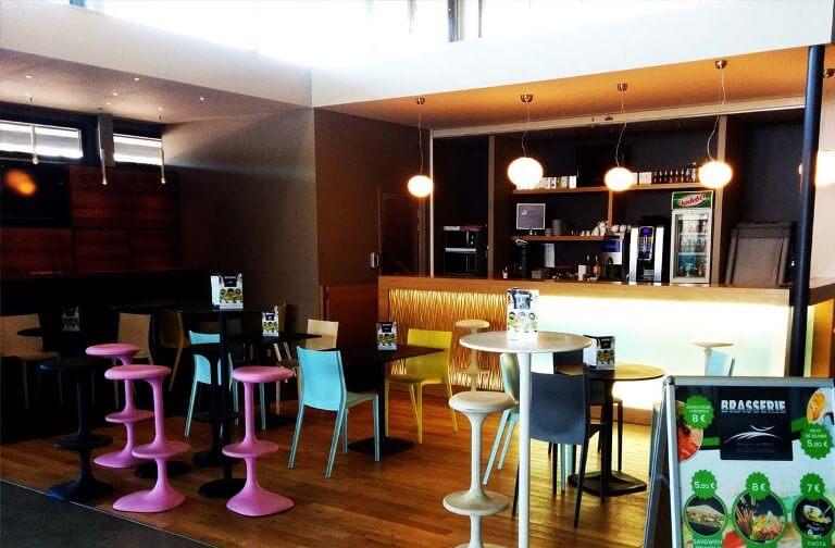 Caféteria aéroport
